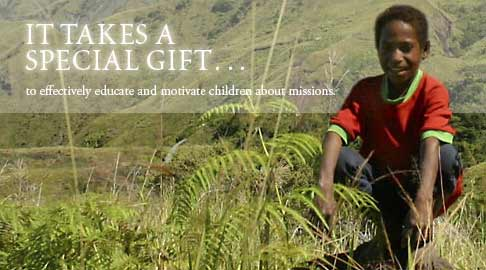 It takes a special gift to effectively educate and motivate children about missions.